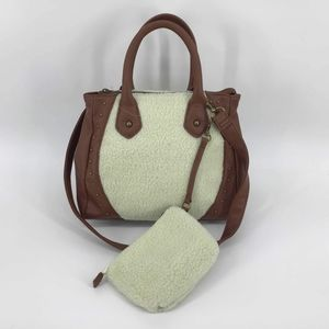Handbags - Shearling Handbag